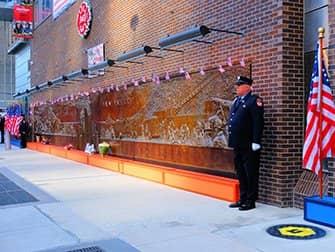 9/11 in New York - Memorial Wall