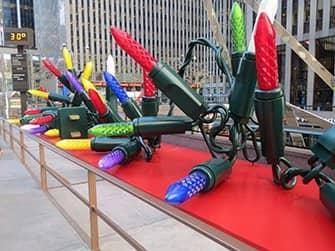 Kerstmis in New York - Decoraties