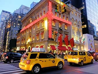 Kerstsfeer in New York - Cartier