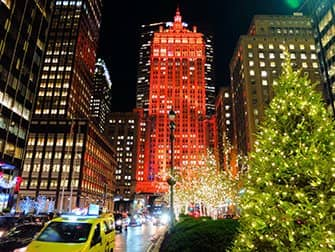 Kerstsfeer in New York - Decoraties
