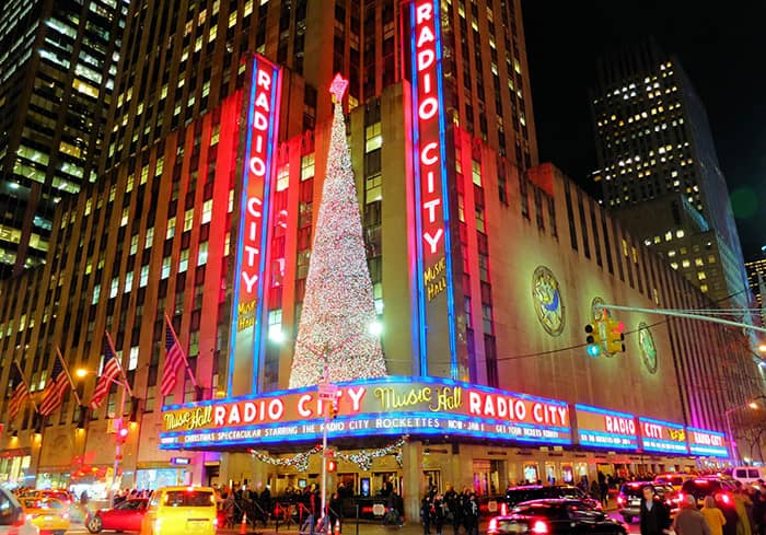 Kerstsfeer in New York - Radio City Music Hall