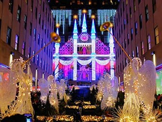 Kerstsfeer in New York - Saks Fifth Avenue