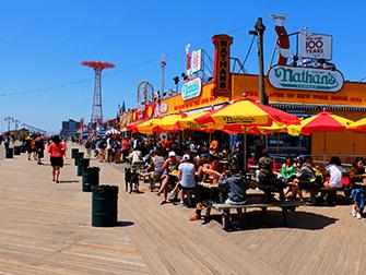 Memorial Day in New York - Coney Island Promenade