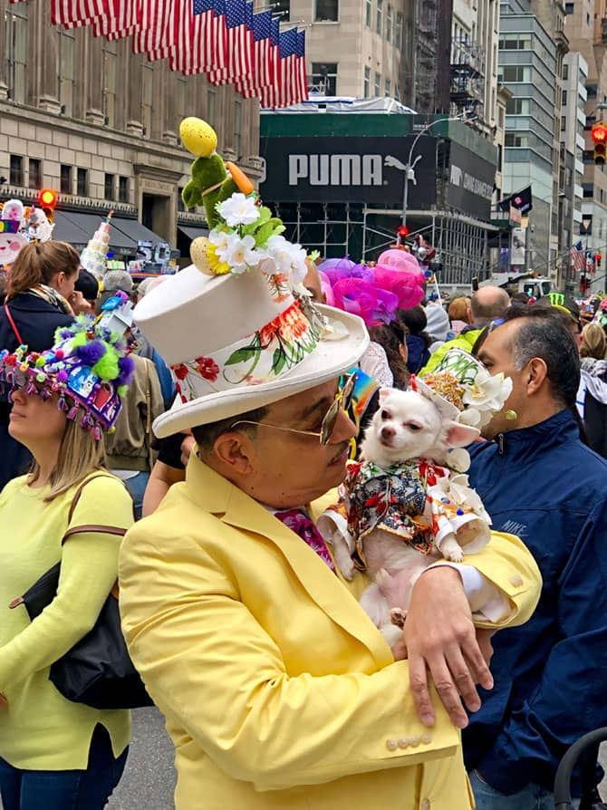 Pasen in New York - Easter parade