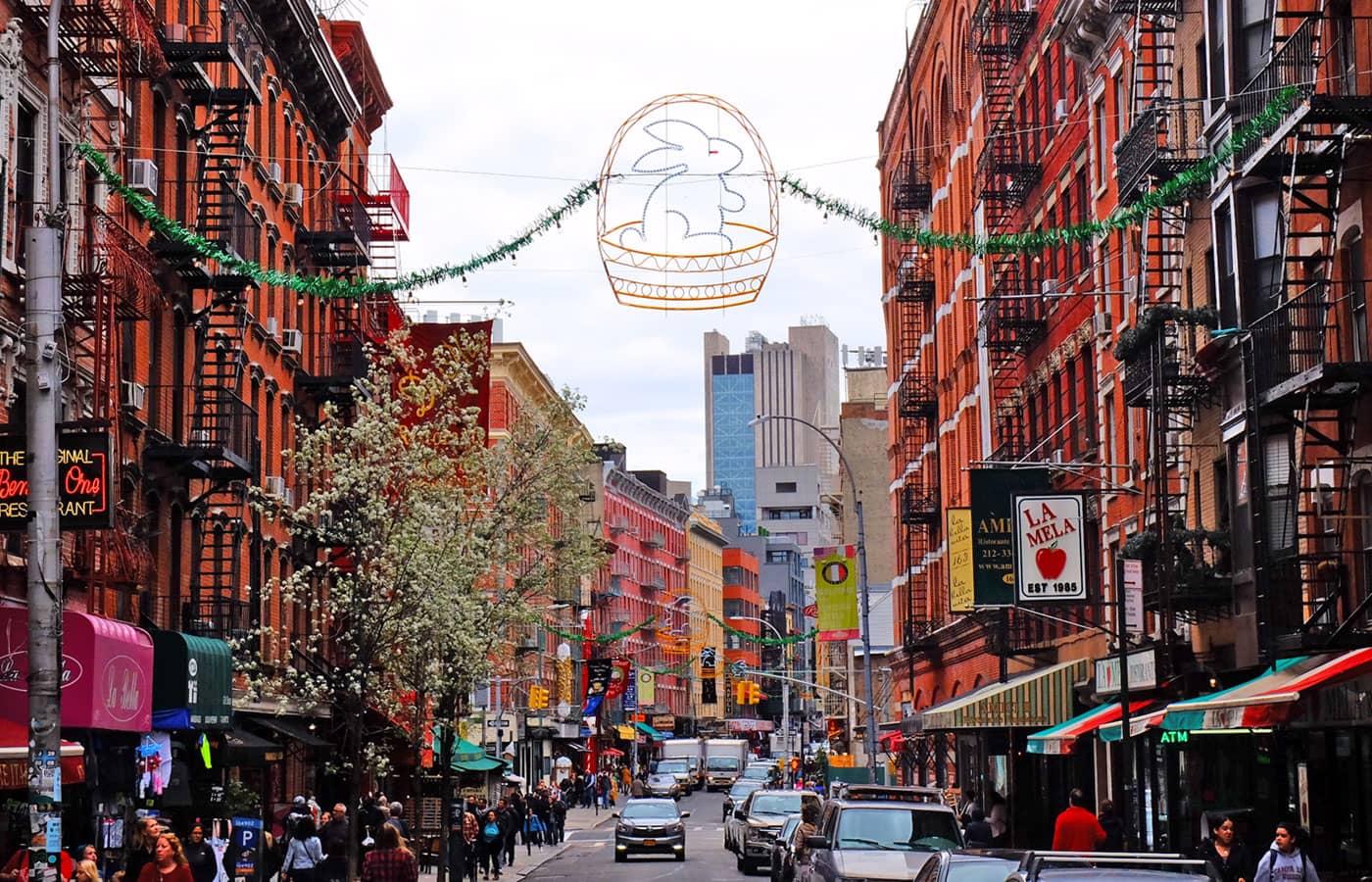 Pasen in New York - Little Italy