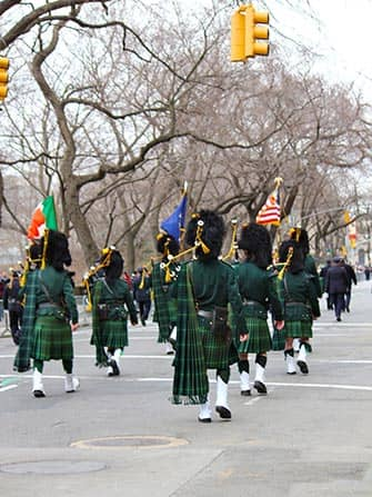 St Patrick's Parade in New York