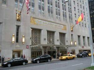 Waldorf astoria in new york