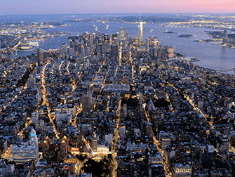 Avond Helikoptervlucht en Sightseeingcruise in New York - Downtown