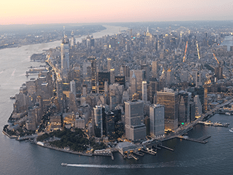 Avond Helikoptervlucht en Sightseeingcruise in New York - Manhattan