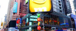 M&M's winkel op Times Square