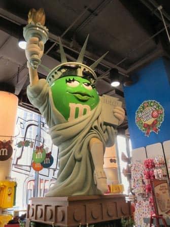 M&M's winkel Vrijheidsbeeld