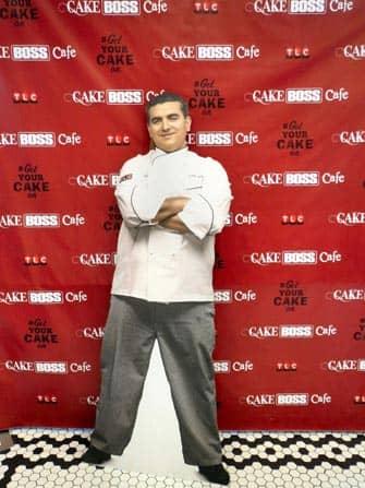 Carlo's Bakery 'Cake Boss' in New York - Buddy Valastro