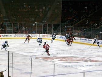 ijshockeywedstrijd new jersey devils