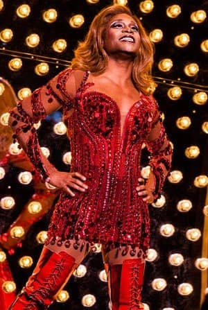 kinky boots broadway new york lola drag queen