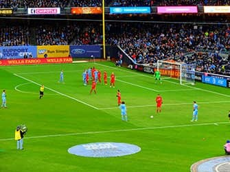New York City FC - Voetbal Wedstrijd