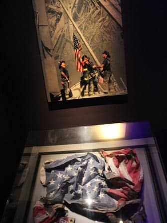 Amerikaanse vlag 911 museum new york