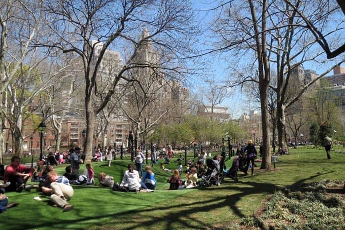 Washington Square Speeltuin New York