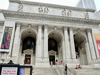 Architectuurrondleiding in New York - Public Library