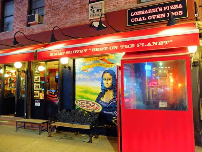 Beste Pizza in New York - Lombardi's Pizza