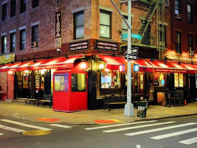 Beste Pizza in New York - Lombardi's