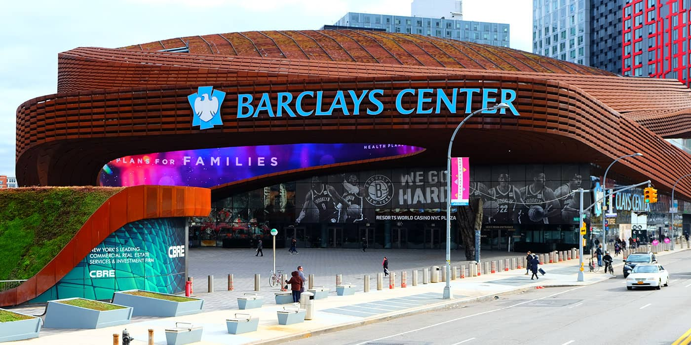 Brooklyn Nets Tickets Kopen - Barclays Center
