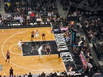 Brooklyn Nets in New York - Basketbalwedstrijd