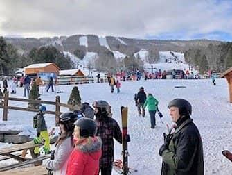 Dagtrip Skien of Snowboarden in New York - Hunter Mountain