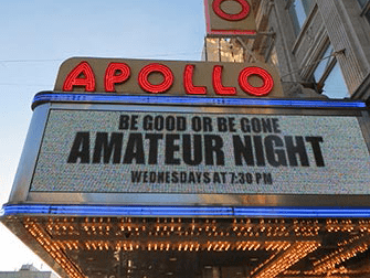 Hiphoptours in New York - Apollo Theater