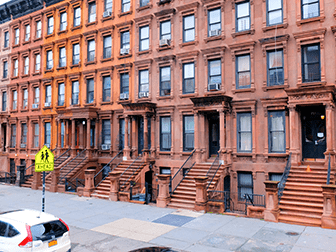 Hiphoptours in New York - Brownstones