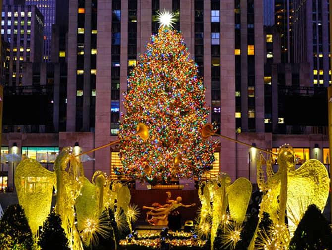 Kerstmis In New York Newyork Nl