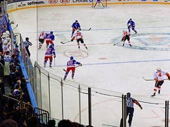 New York Rangers - IJshockeywedstrijd