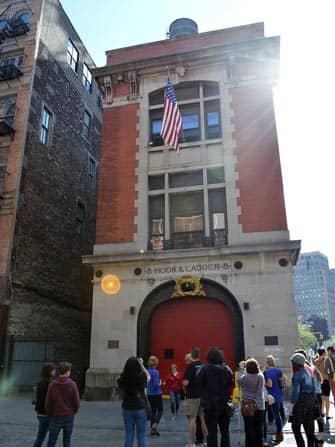 New York TV- en Filmtour - Ghostbusters