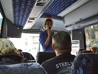New York TV- en Filmtour - Gids in Tourbus