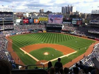New York Yankees - Baseballwedstrijd