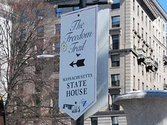 New York naar Boston met de bus - Freedom Trail