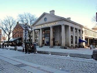 New York naar Boston met de bus - Quincy Market