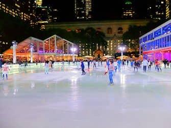 Schaatsen in New York - Bryant Park IJsbaan