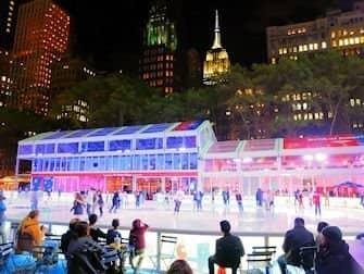 Schaatsen in New York - IJsbaan Bryant Park