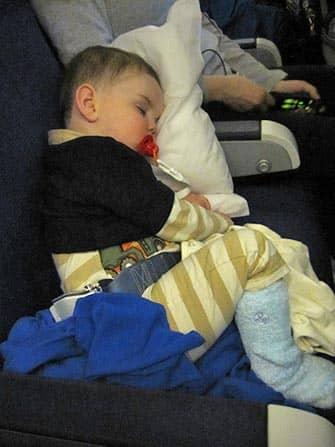 Vliegen naar NYC met babies