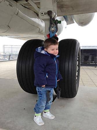 Vliegen naar NYC met kinderen