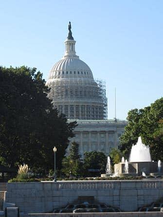 Washington DC met de trein - Capitol