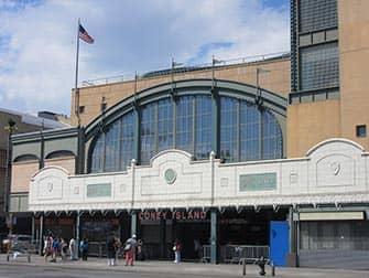 Coney Island Metrostation in NYC