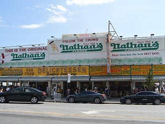 Coney Island in New York - Nathan's