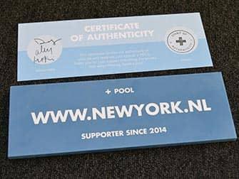 +-Pool-in-New-York-echtheidscertificaat