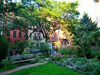 Hells Kitchen in NYC - Clinton Community Garden