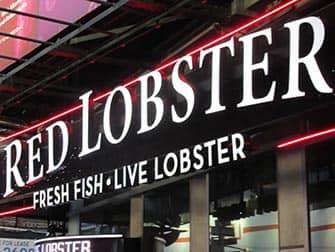 Met kinderen uit eten in New York - Red Lobster