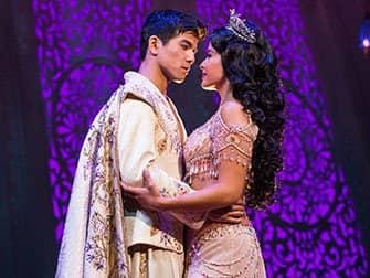 Aladdin op Broadway Tickets - Aladdin en Jasmine