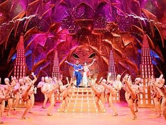 Aladdin op Broadway Tickets - Genie en Aladdin