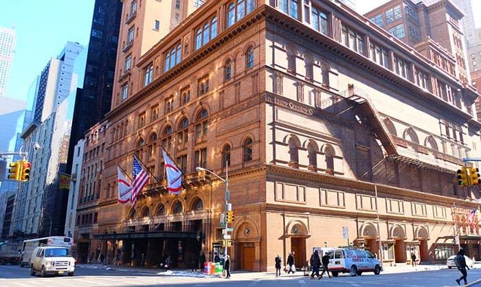 Carnegie Hall in New York - Concertgebouw
