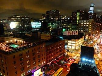 Rooftop Bars in New York - Uitzicht vanaf Gansevoort Hotel